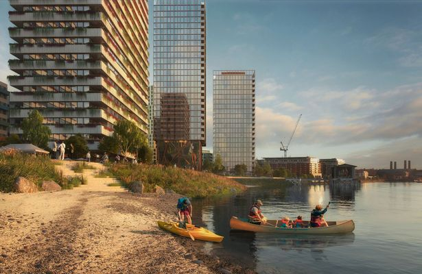 Controversial £763m plan to build 4 tower blocks across one of London's best views