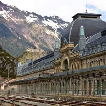 Europe's unluckiest train station gets new lease of life as hotel