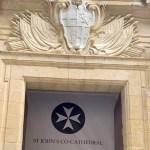 The Knights of Malta St John Cathedral. Valetta Malta