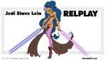 Star Wars Slave Leia Relplay 18-years-old