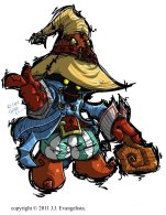 Final Fantasy IX Vivi Fan Art