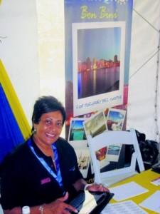 Chata-ceo Lizanne Dindial leidde de Curaçaose delegatie bij de conferentie in Jamaica.
