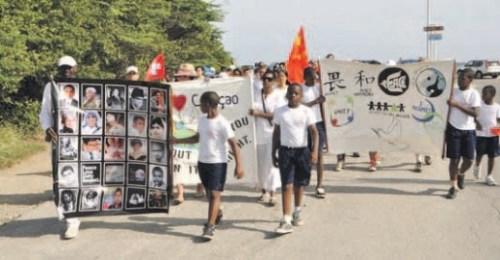 mars tegen criminaliteit