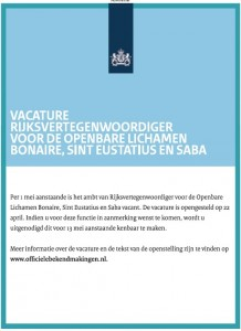 Advertentie-Bonaire