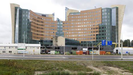 © ANP. De nieuwbouw van KPMG in Amstelveen.