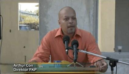 Arthur Con - directeur FKP