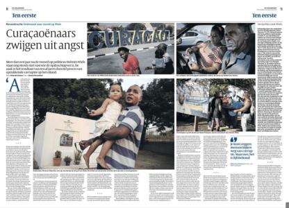 Volkskrant: 'Curaçaoënaars zwijgen uit angst'
