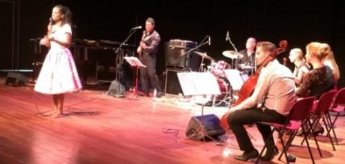 Izaline Calister en Dudok Kwartet bij concert Tula-herdenking - Foto |  Jamila Baaziz