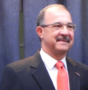 Gouverneur van Aruba Fredis Refunjol - Foto |  Jamila Baaziz