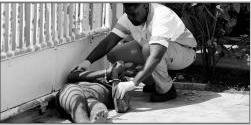 Mishandeling buurtbewoners | Foto |  Extrá