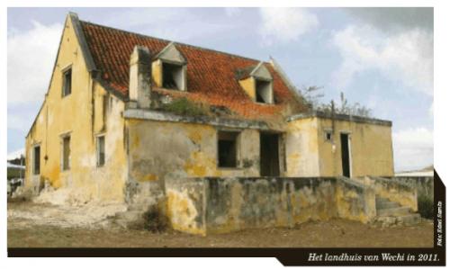 Het landhuis van Wechi in 2011.