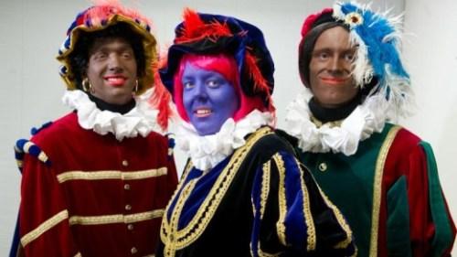 Eerder dit jaar presenteerde het Centrum voor Volkscultuur en Immaterieel Erfgoed een nieuwe Zwarte Piet   foto ANP .