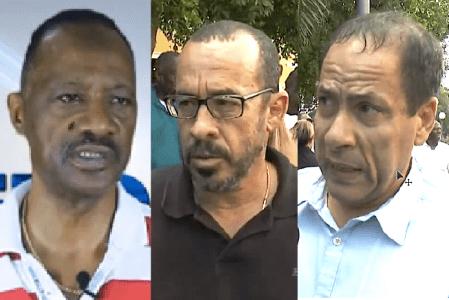 KFO organiseert manifestatie voor de drie advocaten Anthony Eustatius, Eldon peppie Sulvaran en Chester Peterson