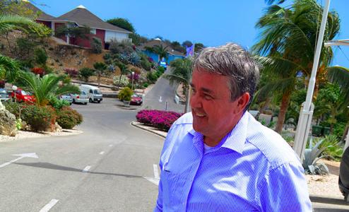 RST Hoofd Wim van Vemde: 'Goede hoop voor zaak Maximus' | Foto Persbureau Curacao