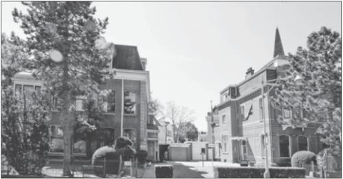 De panden aan de Badhuisweg: wel of niet verkocht? | Foto Nico van der Ven
