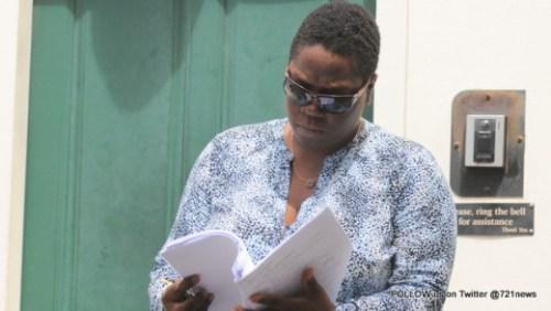 Press release regarding prosecution blogger Judith Roumou