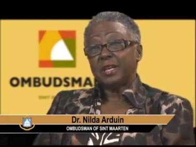 Ombudsman Nilda Arduin van St. Maarten