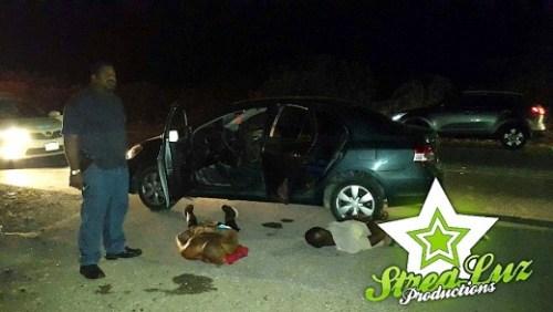 Arrestatie motordieven voor afpersing | Foto Strealuz