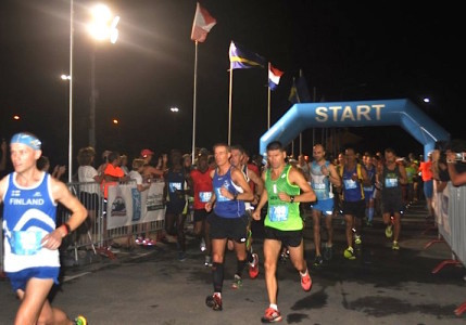 De Fin Tomi Halme heeft de tweede KLM Curaçao Marathon gewonnen