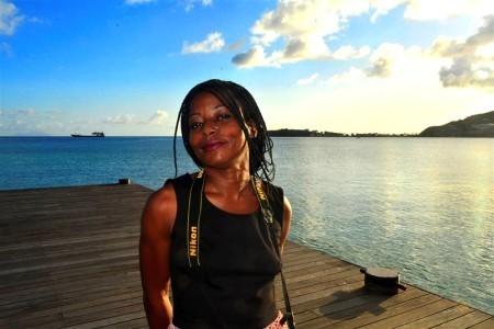 Anti corruptie blogster Judith Roumou is de eerste politiek vluchtelinge binnen het Koninkrijk der Nederlanden  | Foto Persbureau Curacao