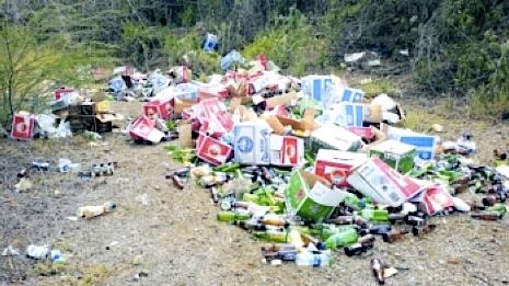 De eigenaar van het bedrijfsafval stelde vandaag al op de hoogte te zijn gesteld van de illegale dump