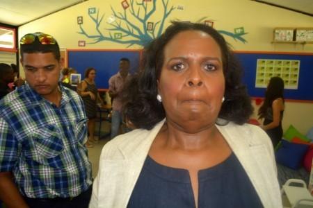 Marvelyne Wiels zoekt opnieuw ruzie | Foto Persbureau Curacao