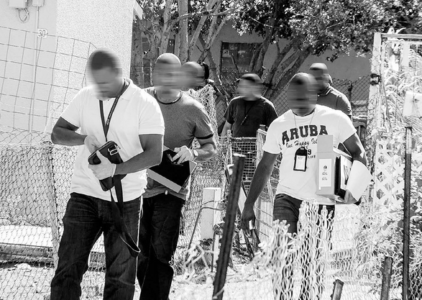 Arrestattie schietpartij Campo Alegre-1 | Foto Extra