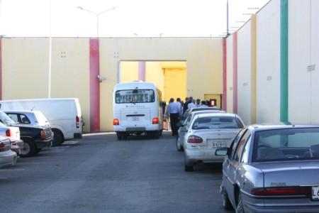 Ingang SDKK-gevangenis | Foto Persbureau Curacao