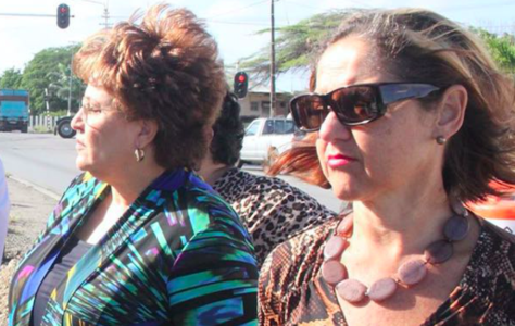 VVRP mensen Caroline Gonzales Manuel en Suzy Romer