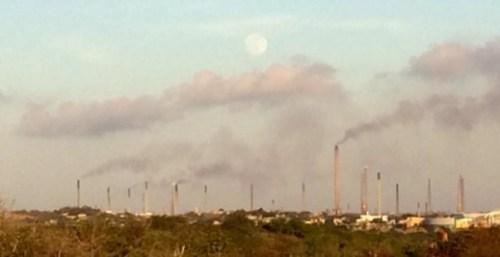 "Persbericht: ""University of South Florida: Curaçao in wereldtop milieuvervuiling met kankerverwekkende stoffen"" | Foto Romke Jonker"