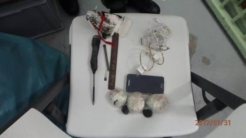 Wapens en telefoons gevonden tijdens zoeking in de Pointe Blanche gevangenis
