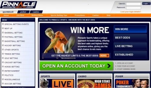 Online casino's sportsbettings - PinnacleSports