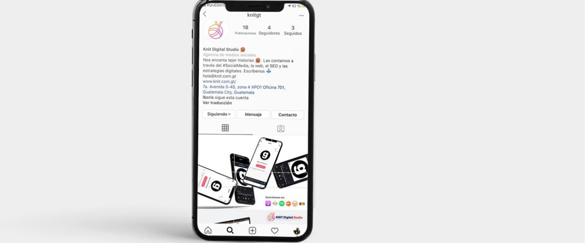 En este artículo aprenderás cómo hacer un puzzle o mosaico de Instagram para tu perfil