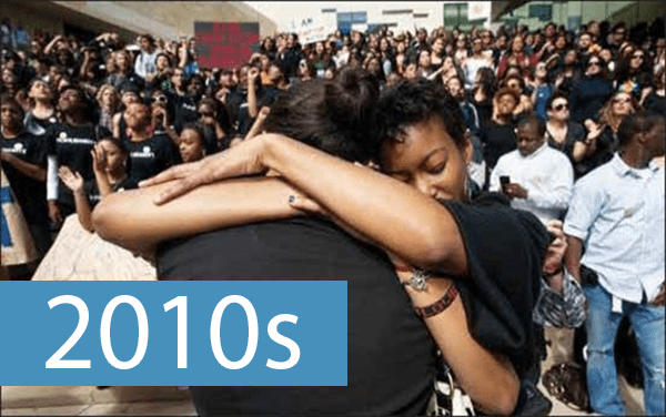 Tell Us How UC It: History of Student Activism Timeline 2010s