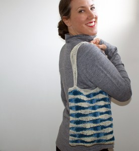 ocean waves bag