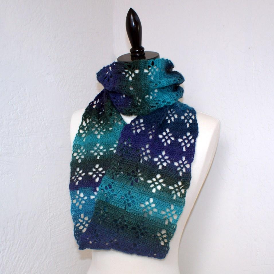 Diamond Lace Infinity Scarf