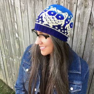Owls Up All Night Beanie
