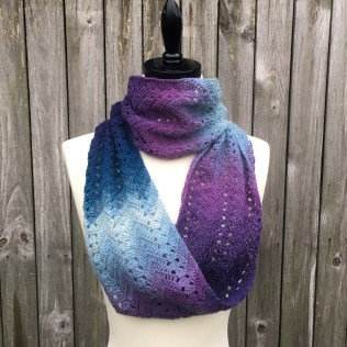 Fall Infinity Scarf Crochet Pattern