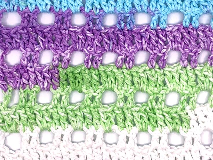 Arch Crochet Stitch Pattern