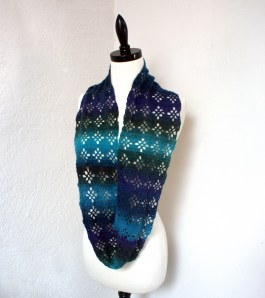 Diamond Lace Infinity Scarf