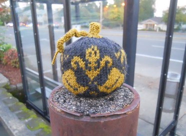 Mini Colorwork Pumpkin