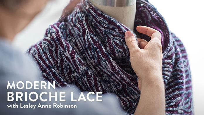7955e76b3 Craftsy class    Modern Brioche Lace – Knit Graffiti