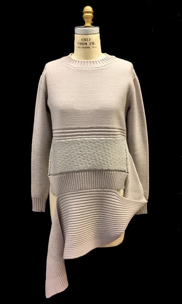 knitGrandeur: FIT & Baruffa 2/30s Cashwool Collaboration: Term Garment Project