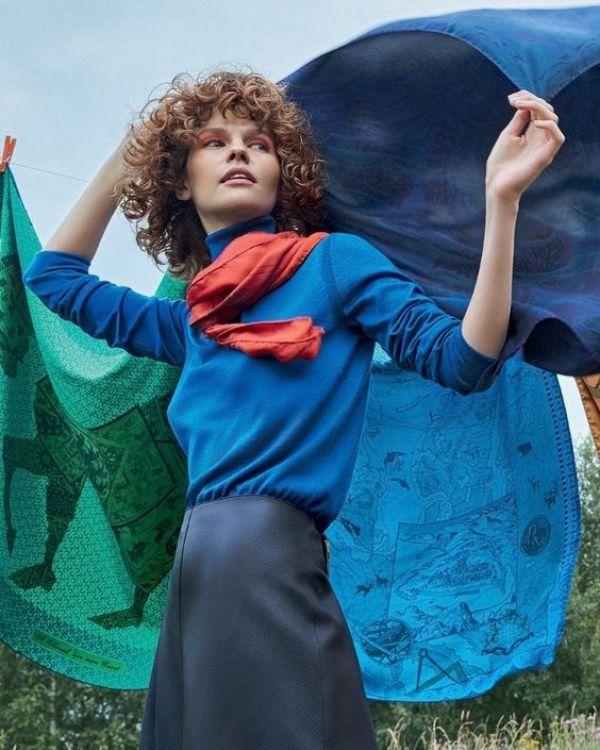 knitGrandeur: Royally Blue