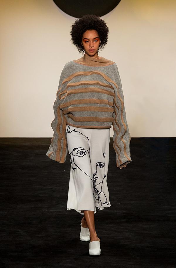knitGrandeur®: FIT The Future of Fashion 2018, Knitwear-Designer Kapri Scott