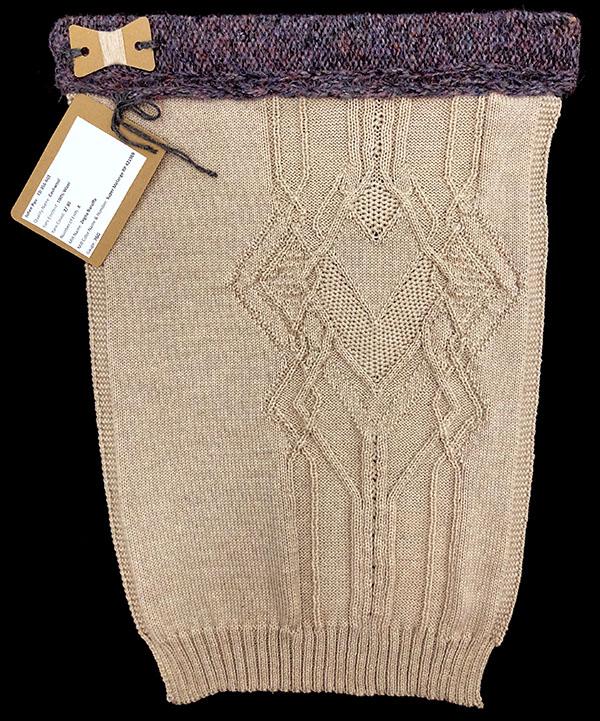 Designer:Juhee Ryu- knitGrandeur: FIT Knitwear Specialization, Linear Stitch Design Project 2018