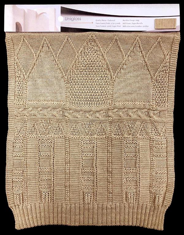 Designer:Alice (Liuxin) Chen- knitGrandeur: FIT Knitwear Specialization, Linear Stitch Design Project 2018