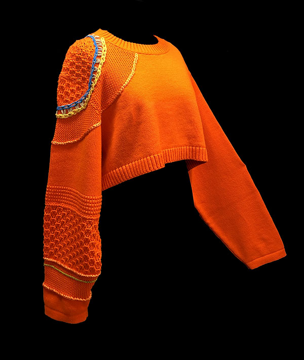 knitGrandeur: Designer: Juhee Ryu - FIT & Biagioli Modesto Collaboration 2018: Term Garment Project Featuring Cash 30