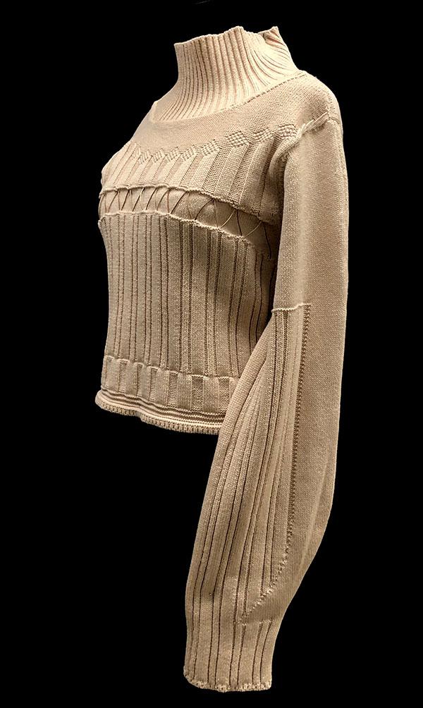 knitGrandeur: Designer: Alice (Liuxin) Chen - FIT & Biagioli Modesto Collaboration 2018: Term Garment Project Featuring Cash 30