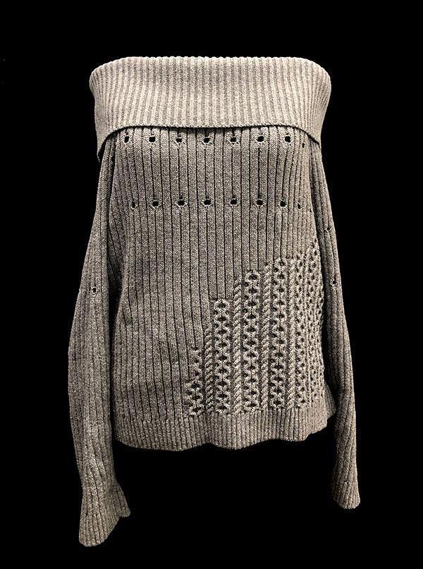 knitGrandeur: Designer: Echo (Xiran) Liu - FIT & Biagioli Modesto Collaboration 2018: Term Garment Project Featuring Cash 30